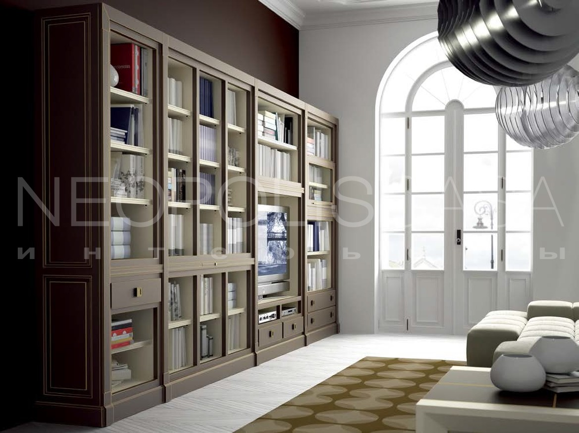 Модульная система, стенка la ebanisteria - hamster bookcase .