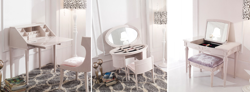 Сделать туалетный столик с зеркалом своими руками